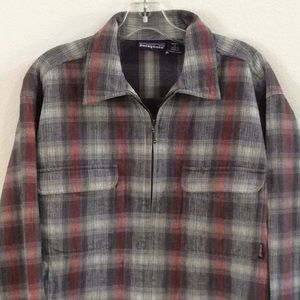 PATAGONIA 100% cotton flannel vintage, like new!